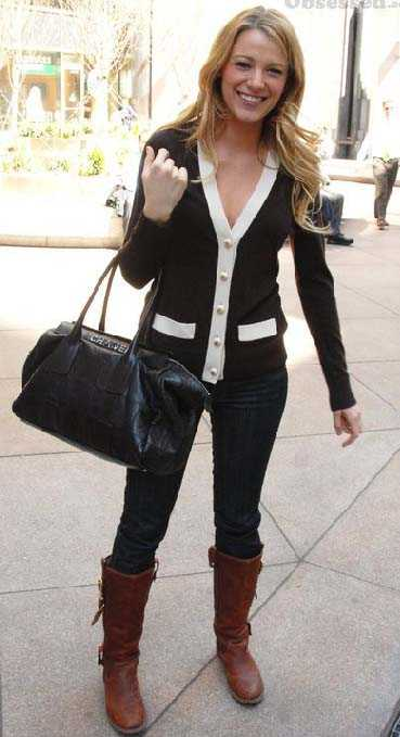 blake lively casual look. El look casual de Blake Lively