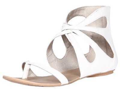 Zapatos coloridos y modernos 2010: Bershka