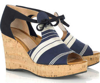 Glamorosas sandalias con plataforma para el verano 2011